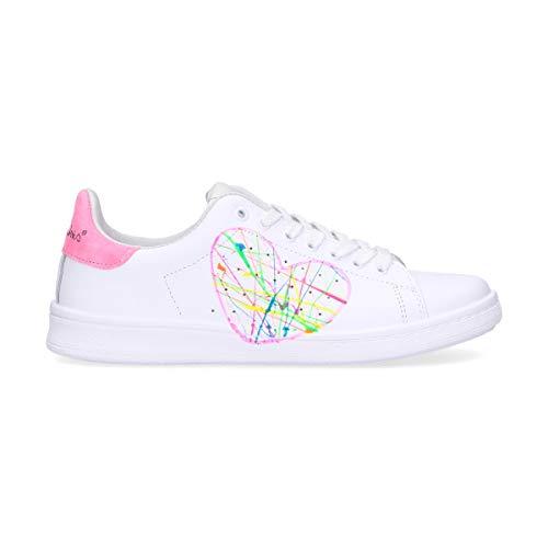 Pelle Sneakers Bianco Dacu97 Rubens Nira Donna FIw75xq