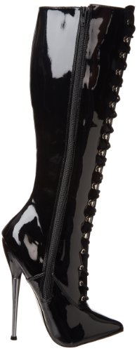 Women's Pleaser Patent High Knee Black 2020 Dagger f67WU16CZ