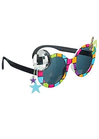 Del 208 Amscan Estrella 864 80 La De Rock Gafas Sol g6fb7y