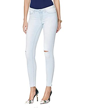 Jessica Simpson Plus Size Wash Ripped Skinny Jeans