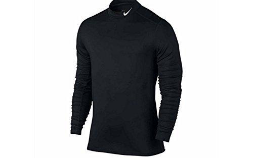 Running Gear Nike - Nike Long-Sleeve Dri-FIT Base Layer Shirt (X-Large, Black)