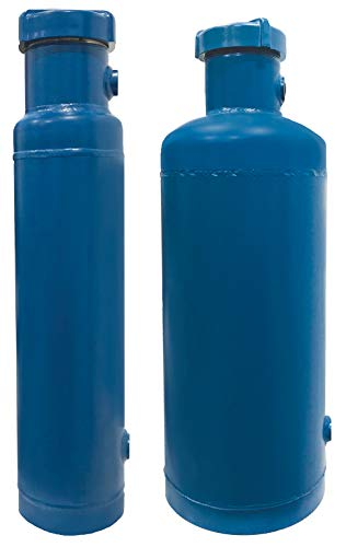Bypass Filter Feeder 2 Gallon Size. Domed Bottom. Model BF-02D2. Legs a 25 Micron Filter Included. Uses Standard 3
