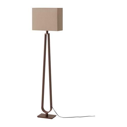 Ikea Floor lamp, Light Brown, Bronze Color 426.291720.3026