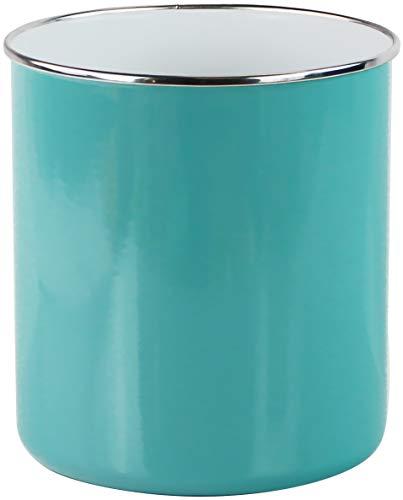 Calypso Basics 82672 by Reston Lloyd Large Enamel-on-Steel Holder Utensil Jar, - Series Utensil Holder