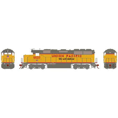 Athearn G40712 HO GP50 Phase 1, UP/We Will Deliver #5537