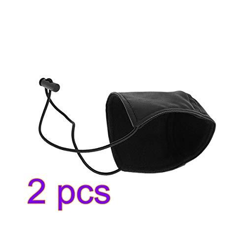(Vosarea Driving Shoe Protector Wearproof Shoe Heel Protection Cover Mat Shoe Heel Pad for Driver 2pcs (Black))
