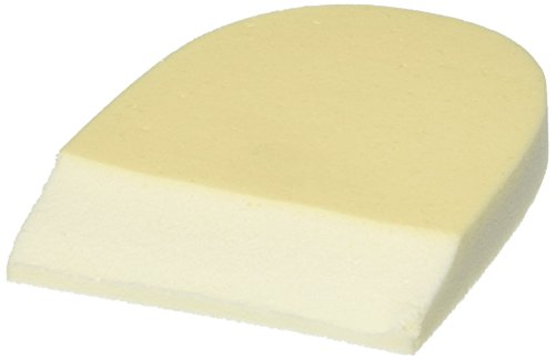 Steins 1/2 Inch No.10 Skived Non-Adhesive Foam Heel Pads, 2 Count