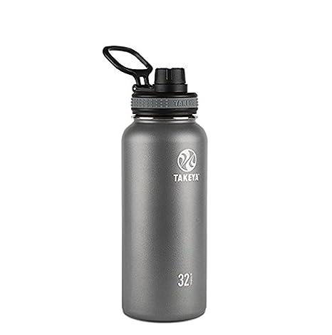 Takeya Originals Botella de agua de acero inoxidable aislada ...