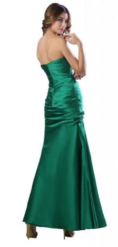 Orifashion para vestido de noche mujer Mermaid verde Verde