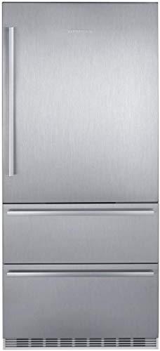 Liebherr CS2080 36 Inch Counter Depth Bottom Freezer Refrigerator in Stainless Steel