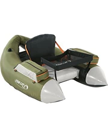 Low International Shipping Rates! Outcast FISH CAT 4 Olive LCS Float Tube
