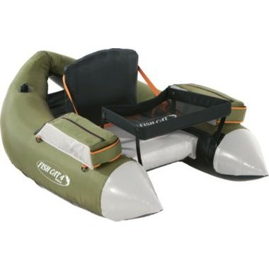 Outcast Fish Cat 4 Deluxe Float Tube - Olive with Free $20 Gift Card (Outcast Fish Cat 4 Deluxe Float Tube)