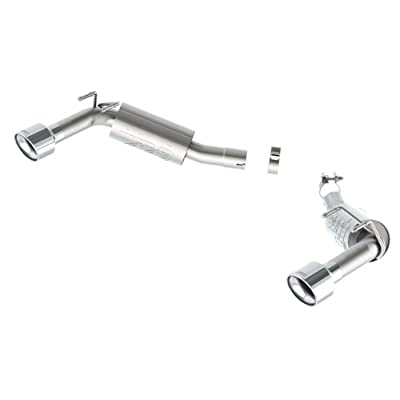 """Borla (11851) 2.5"""" Inlet/Outlet Rear Exhaust System with ATAK Sound for Chevrolet Camaro 2-Door: Automotive"""