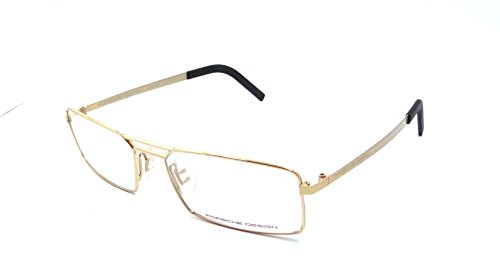 Porsche Design Rx Eyeglasses Frames P8282 C 55x17 Gold Made in Italy