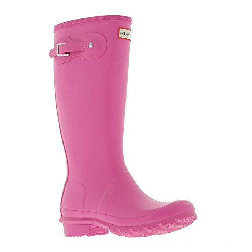Hunter Junior Young Original - Zapatos de punta redonda sin cordones Rosa - rosa