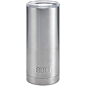 Built Double Wall Stainless Steel Vacuum Insulated Tumbler, 20 Oz Stainless Steel
