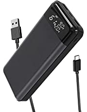 Portable Power Bank 30,000mAh [18W PD & QC 3.0 Quick Charging Type-C Input/Output ] Huge Capacity Bank Charger External Battery Pack with LED Indicator ,2 Inputs and 3 Outputs Cell Phone Charger for Smartphones …