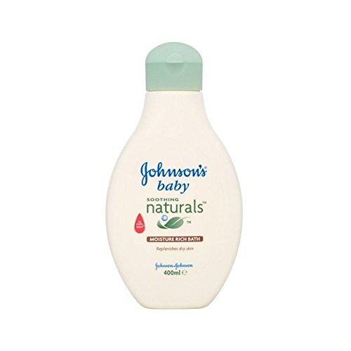 Johnson's Baby Moisture Rich Bath 400ml - Pack of 6 Johnson's Baby