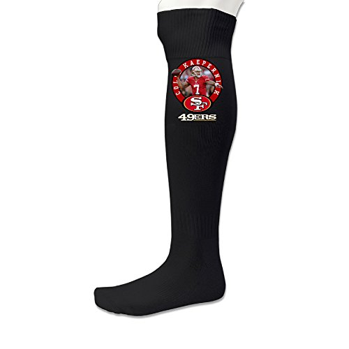 SF 49ers Colin Kaepernick #7 Men's Football Athletic Socks