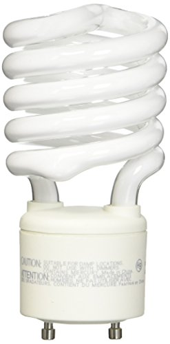 pring Lamp - 100 Watt Equivalent (Only 27w used!) Soft/Warm White (3000K) General Purpose Spiral Light Bulb - GU24 Base (120 Volt Warm White Spiral)