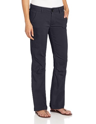 prAna Living Women's Short Inseam Halle Pant, Coal, 6