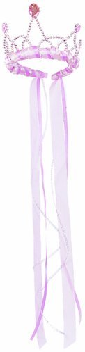 Great Ribbon (Great Pretenders Pink Ribbon Tiara (One Size))
