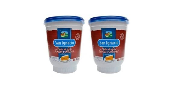 Amazon.com : SAN IGNACIO Dulce de Leche para Reposteria 500 gr. - 2 Pack/Milk Caramel 1.2 lb. - 2 Pack : Grocery & Gourmet Food