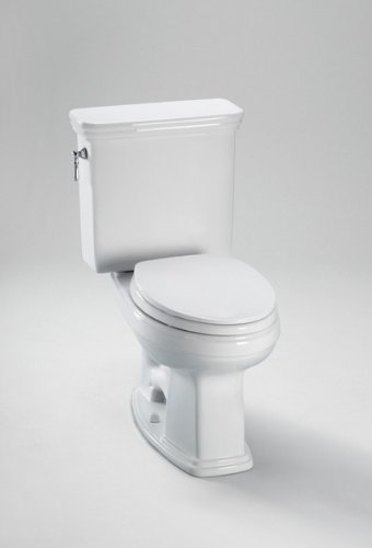 TOTO CST424SF#11 Promenade Toilet, Elongated Bowl - 1.6 GPF, Colonial White