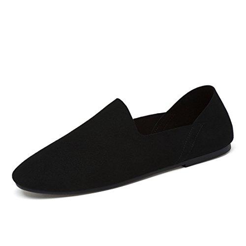 Minitoo LHUS-LH17-55, Mocassins Pour Homme - Noir - Noir, 39