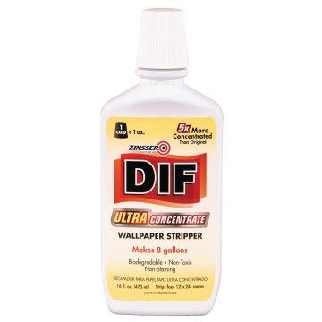 Zinsser DIF 16 Oz Ultra Concentrate Wallpaper Stripper Package of 6