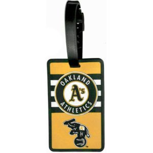 aminco Oakland Athletics - MLB Soft Luggage Bag Tag