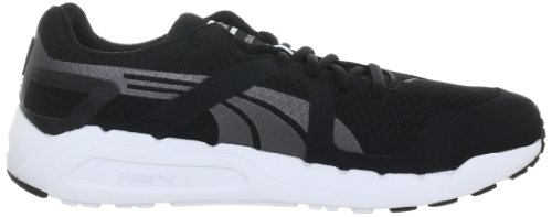 Puma - Zapatillas de deportivo para hombre, tamaño 47 UK, color gris Schwarz (black-white-aged silver 1) (Schwarz (black-white-aged silver 1))