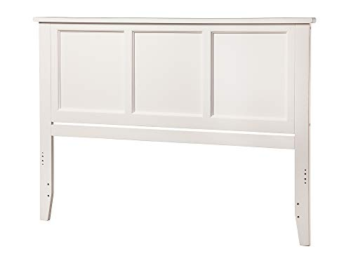 Atlantic Furniture Madison Headboard, Queen, White