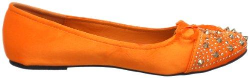 Orange Les femme Orange 36Akb01 72978 Ballerines 564 Tropeziennes qrTwrzPI