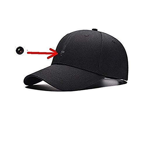 1080P Camera Hat Outdoor Sport Camera 8GB Remote Control Baseball Cap Wearable Cam (Baseball Cap Spy Camera)