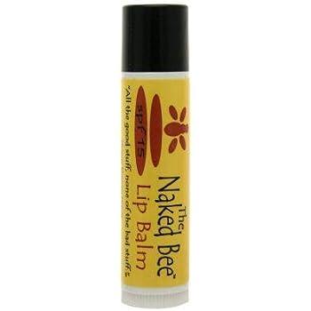 The Naked Bee Orange Blossom Honey Lip Balm 0.15 oz Brand
