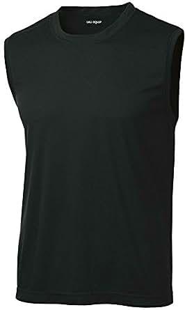 Dri equip tm mens sleeveless moisture wicking for Mens moisture wicking sleeveless shirts