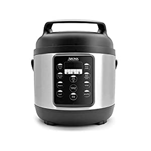 Aroma Housewares (APC-816SB) Aroma Professional Pressure Cooker, 12-Cup (Cooked), Black 7