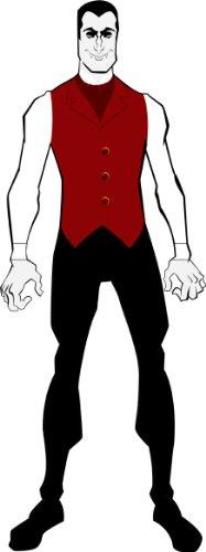 [Rubie's Costume Vampire 2nd Skin Full Body Suit, Multicolor, X-large Costume] (Vampire Suit)