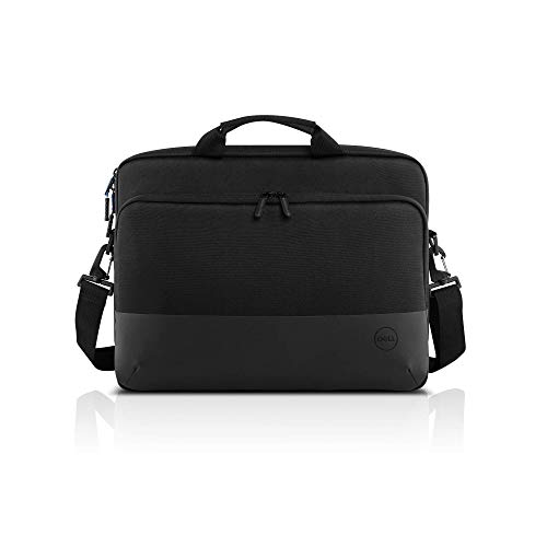 Dell Pro Slim Briefcase 15-Keep Your Laptop, Tablet and Other Essentials securely Protected Within The eco-Friendly Dell Pro Slim Briefcase 15 (PO1520CS), a Slim-fit case Designed for Work and Beyond