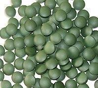 comprimés de Chlorella (1250 de comptage, 250g), pressée à froid, 100% brut et pur, de premières Organics électriques