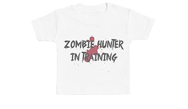 Baby Bunny Zombie Hunter In Training Camiseta para Bebé Niña ...