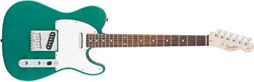 - Squier by Fender Affinity Series Telecaster Beginner Electric Guitar - Race Green