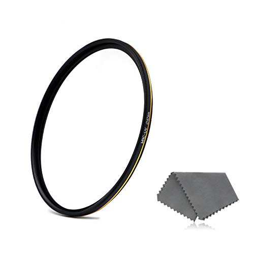 LENSKINS 67mm UV Protective Filter, 16-Layer Multi-Resistant Nano Coated, Ultra Slim, German Optics, Weather-Sealed, HD Clear Glass Ultra Violet Filter, Camera Lens Protector with Lens Cloth