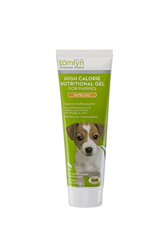 Tomlyn High Calorie Nutritional Gel for Puppies, (Nutri-Cal) 4.25 oz (Supplement Cal Pet)
