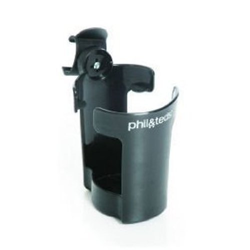 phil&teds Thirsty Works Cup Holder for Vibe/Smart Strollers, ()