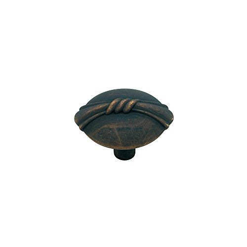 Liberty PN0609-OB-C 30mm Bundled Reed Kitchen Cabinet Hardware Knob, Oil Rubbed Bronze