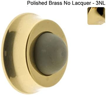 Polished Chrome Simons 13045-026 Professional Grade Quality Genuine Solid Brass Wall Door Bumper idh by St