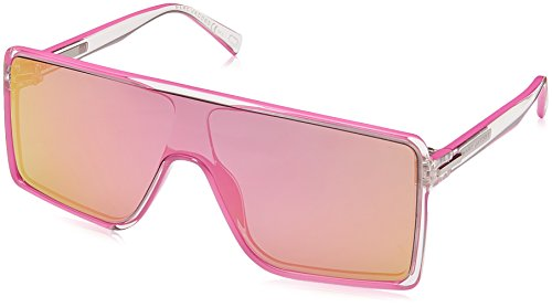 Marc Jacobs Women's Flat Top Sunglasses, Crystal Pink/Pink, One - Jacobs Pink Marc