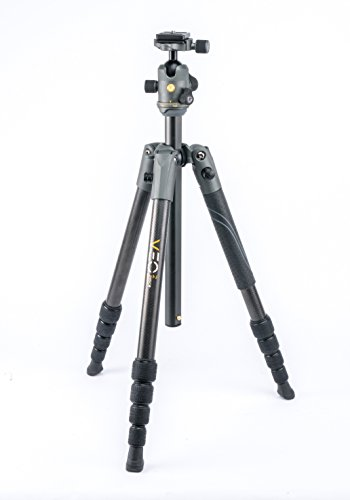 Vanguard VEO 2 235CB Carbon Fiber Travel Tripod with VEO 2 BH-50 Ball Head for Sony